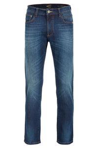 camel active Houston, modische Jeans in Blue Stone, Stretch, Größe wählbar 36/36