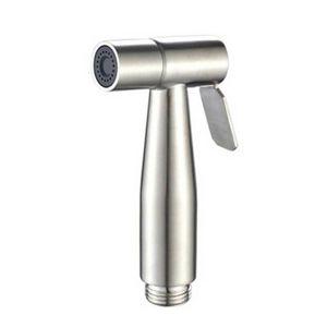 WC Bidet Sprayer Edelstahl Hand Shattaf Badezimmer Duschkopf 12*5.7cm!DE-
