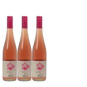 Rosé Mosel  Weingut Markus Burg Qualitätswein Villa Burg trocken und vegan (3x0,75l)