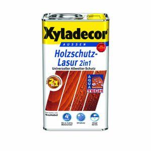 Xyladecor 2in1 Holzschutzlasur 5 L Farbwahl , Farbe:Salzgrün