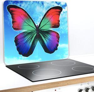 Wenko 2712962500 Multi-Platte Butterfly by Day für Glaskeramik 56 x 50 x 0,5 cm