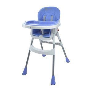 Hochstuhl Kombihochstuhl Hochstuhl Babyhochstuhl Baby Stuhl Kinder 2021, Farbe:Blau