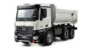 Amewi Mercedes LKW Kipper PRO Metall 2,4GHz RTR weiß