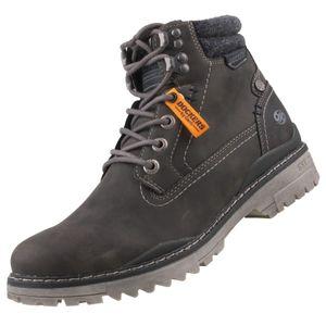 Dockers Herren Outdoor Schuhe  Synthetikkombination grau 42