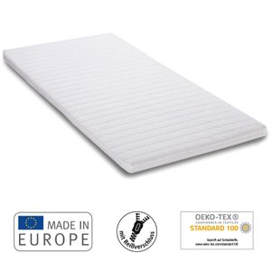 7dreams® Matratzentopper Microfaser 100 x 200 x 6,5 cm