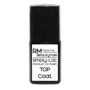 10ml Premium Soak Off Shellac Top Coat Simply Lac