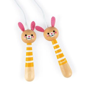 Janod Bunny Skipping Rope Multicolor 3-8 Years