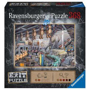 RAVENSBURGER EXIT Puzzle In der Spielzeugfabrik Erwachsenenpuzzle Exit Room 368