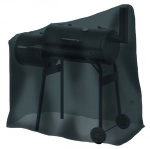 Tepro-Grillschutzhülle-Universal Abdeckhaube - für Smoker klein, schwarz; 8106
