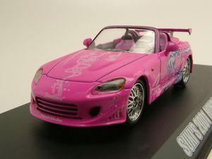 Honda S2000 2001 pink Suki - Fast & Furious Modellauto 1:43 Greenlight Collectibles