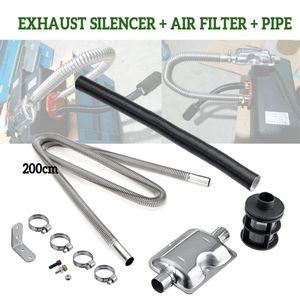 Luftfilter Auspuff Schalldämpfer Schalldämpfer Halterung für Luft Diesel Zubehör für Parkheizungen Standheizung