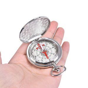 Taschenuhr Flip Compass Tragbarer Wandernavigationskompass Kompass Schlüsselbund