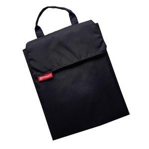 Wickelquick, Mobile Wickelunterlage, Wickeltasche, 60x60cm, 4 Seitentaschen, schwarz