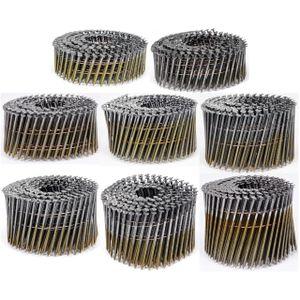 Vorel Drahtgebundene Coilnägel Spulennägel 32-90 mm 3000 - 7200 Stk 50 x 2,1 mm (5400 Stk.)