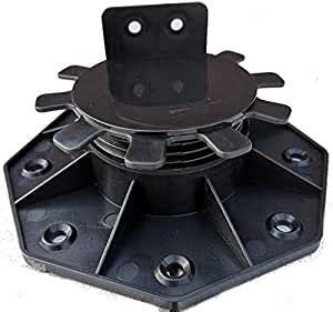 PRO-FIXX Stelzlager M 30 - 60 mm Stellfüße Verstellfüße Stellfuß Plattenlager Terrasse WPC