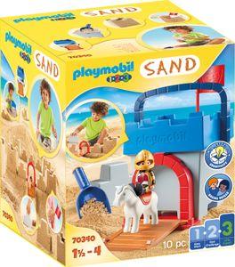 """Playmobil, Kreativset """"Sandburg"""", 1.2.3 / Sand, 70340"""