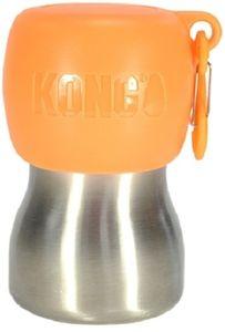 KONG H2O 255 ml Edelstahl Wasserflasche orange