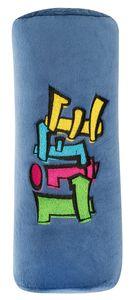 KidsExperts Schlafkissen Graffiti ca. 23 x 10 cm blau, 26188