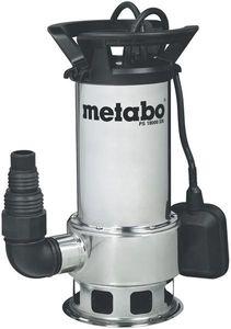 Metabo Schmutzwasser Tauchpumpe PS 18000 SN 1100Watt