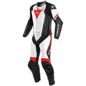 Dainese Laguna Seca 4 2 Pcs Matte Black / White / Fluo Red 54