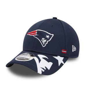New Era NFL NEW ENGLAND PATRIOTS Authentic 2020 Sideline Home 9FORTY Stretch Snapback Game Cap