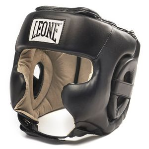 LEONE Kopfschutz, Training, schwarz Größe - M