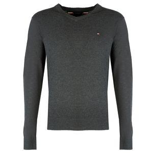 "Tommy Hilfiger Pullover ""Slim"" -  MW0MW11707 - Grau-  Größe: M(EU)"