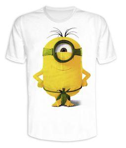 Minions T-Shirt Feigenblatt Stuart Gr. S - T-Shirts