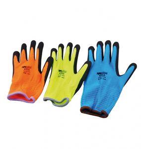 Müllner AH-5L Kinderhandschuh Handschuhe für Kinder 6 bis 8 Jahre Farbe Neon Gelb
