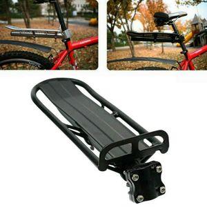 Fahrrad Alu Gepäckträger geeignet für Mountainbike MTB Sattelstütze Verstellbar 33*11*9cm