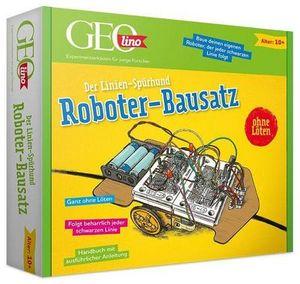 GEOlino Roboter-Bausatz: Der Linien Spürhund  .