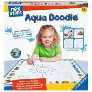 RAVENSBURGER ministeps Aqua Doodle® Malspaß mit Wasser inkl. Malmatte und Stift