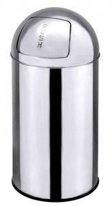 Push Abfallbehälter Ø 35,0 cm - Höhe 75,0 cm - Volumen 40 Liter