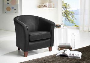 Max Winzer Livia Sessel - Farbe: schwarz - Maße: 70 cm x 70 cm x 74 cm; 2899-1100-9210040-F07