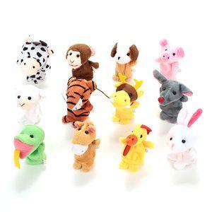 Fingerpuppen-Set Fingerpuppen 12-teiliges Modell, das Geschichte erz?hlt p?dagogisches Spielzeuggeschenk