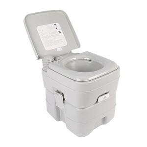 20L Tragbare Campingtoilette Chemietoilette Toiletteneimer Mobil WC Reise-WC