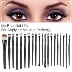 20tlg Professional Make Up Pinsel Set Kosmetik Schminkpinsel Brush Werkzeug