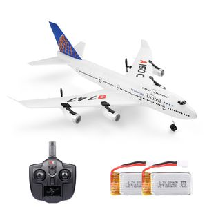 Wltoys XKS A150-C RC Flugzeug 2.4G Flugzeug RC Flugzeug 2CH Fernbedienung EPP Flugzeug Miniaturmodell Flugzeug Outdoor Toy 2 Batterie