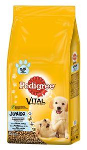 Pedigree 15kg - Junior mit Huhn & Reis