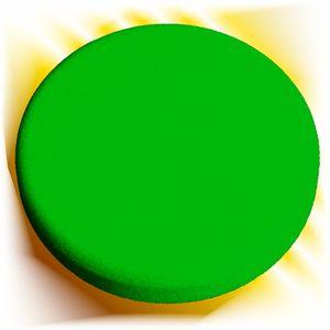 Haitecs Polierschwamm 150 mm grün glatt hart