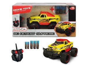 Dickie Toys RC Desert Supreme 201119144.  Ferngesteuertes Auto. RC Monstertruck. Ready to Run. Geschwindigkeit bis zu 8 km/h. Ab 6 Jahren