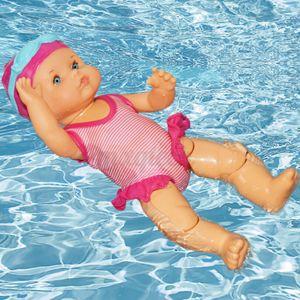 Melario Elektrische Schwimmpuppe Wasserdicht Kinderspielzeug Geburtstagsgeschenk Weihnachtensgeschenk