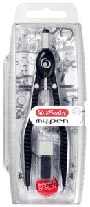 Herlitz Schnellverstellzirkel my.pen schwarz/grau