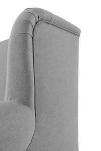Max Winzer Mareille Big-Sessel inkl. 2x Zierkissen 55x55cm + 40x40cm - Farbe: grau - Maße: 103 cm x 149 cm x 103 cm; 2902-754-1645216-F09