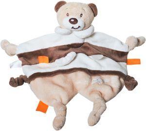 Bieco Schmusetuch Bär Bubu ab 0m+, ca. 29x24,5 cm | Schnuffeltuch | Schmusetuch Baby | Kuscheltier Baby | Schnuffeltuch Baby Junge & Mädchen | Baby Schmusetuch | Kuscheltuch Baby | Babyspielzeug