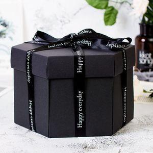 Überraschungsexplosionsbox Geschenk DIY Foto Box Set , personalisierte Überraschungsbox, für Geburtstag, Hochzeit