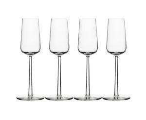 iittala Essence Champagnerglas 21 cl  4er Set