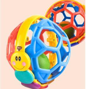 Baby Toy Ball Bendy Baby Walker Rasseln Entwickeln Sie Babys Intelligenz Baby Spielzeug 0-12 Monate Einstein Plastic Hand Bell Rattle