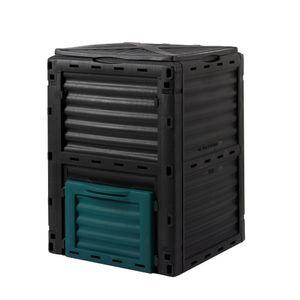 wuuhoo I Thermo-Komposter Rotti aus witterungsbeständigem Kunststoff I Schnellkomposter 300 Liter