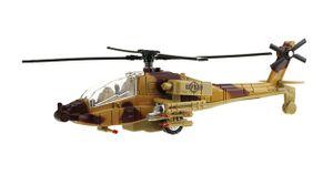 Army Hubschrauber Licht Sound Rückzug Militär Kampfhubschrauber Metall Modell Spielzeug Kinder Geschenk Metal 98 (Beige)